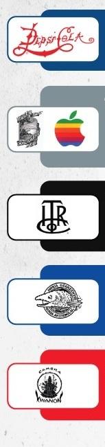 5 логотипов, изменившихся до неузнаваемости