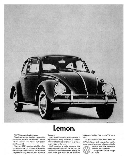 Volkswagen «Lemon»