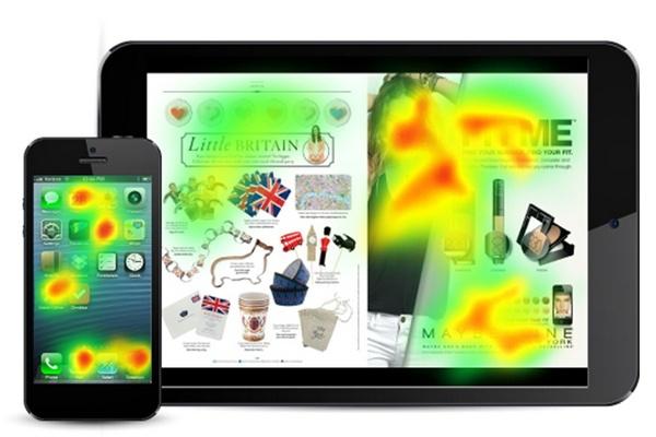 Иллюстрация к статье: Уроки айтрекинга: как покупатели используют мобильные приложения?