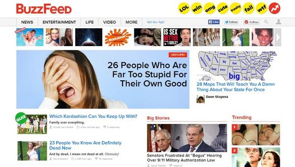 BuzzFeed — спаситель естественной рекламы