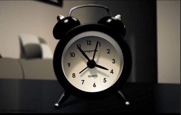 традиционный будильник