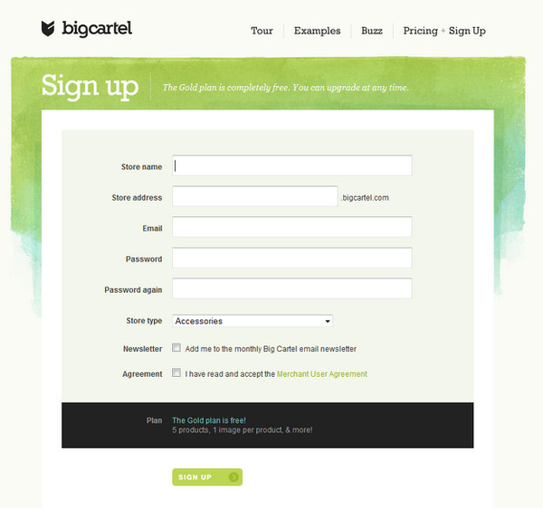 BigCartel: