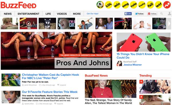 блог BuzzFeed