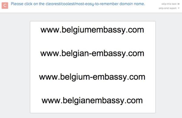 Тест доменных имен