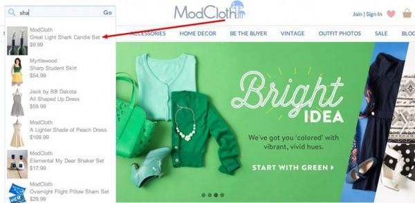 Интернет-магазин одежды ModCloth