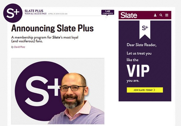 Slate Plus Magazine