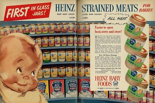 Дети в рекламных изображениях XX века