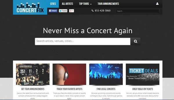 Concert Fix