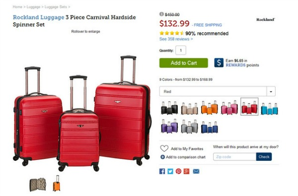 комплект багажа