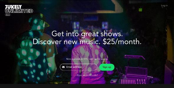 Иллюстрация к статье: Стартап Jukely: любые концерты в мегаполисе за $25 в месяц