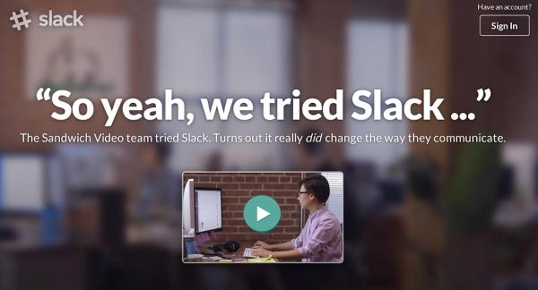 приложение Slack