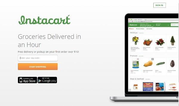 Иллюстрация к статье: Стартап Instacart: продукты из любимых супермаркетов с доставкой на дом