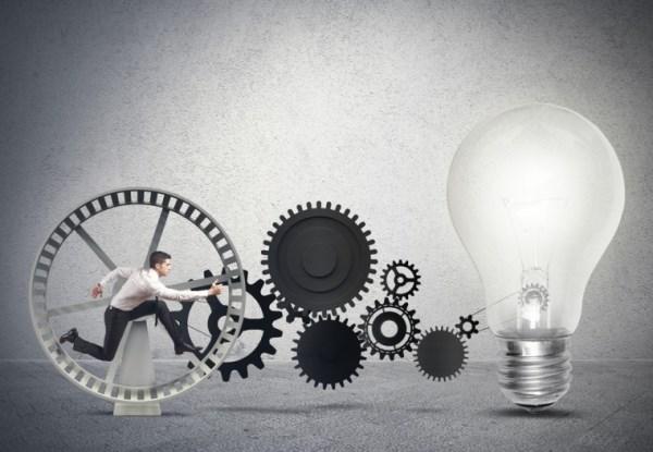 Иллюстрация к статье: Как справиться с недостатком идей: 5 практических советов
