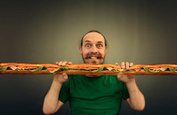 Иллюстрация к статье: Почему ваши отношения с едой ненормальны?