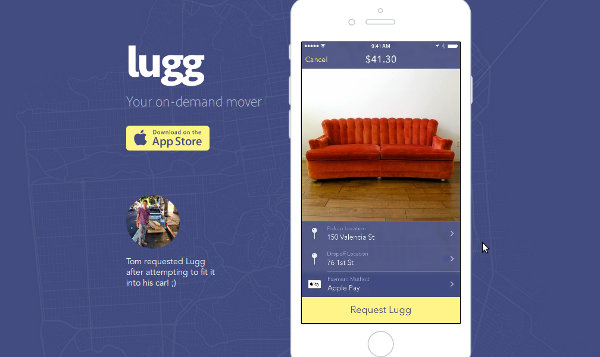 Иллюстрация к статье: Стартап Lugg: аналог Uber для сферы городских грузоперевозок