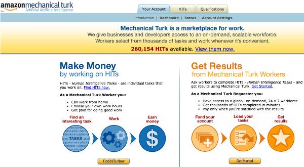 Иллюстрация к статье: Механический турок Амазон (Mechanical Turk): новый взгляд на поведенческие науки