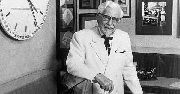 KFC и путь полковника Сандерса