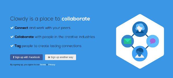 Стартап Clowdy: «британский LinkedIn» для креативной индустрии