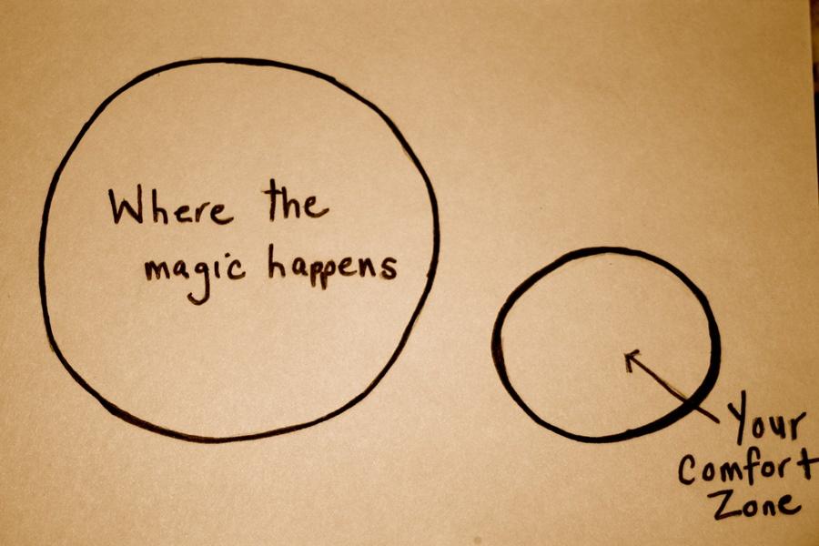Иллюстрация к статье: Выход из зоны комфорта: почему это трудно, но необходимо?