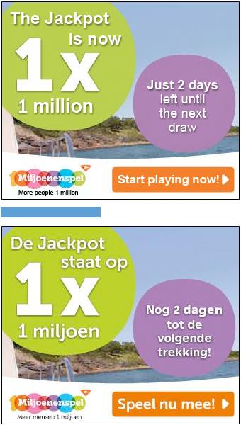 кейс  нидерландской лотереи Miljoenespel