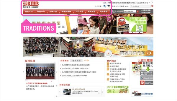 Веб-сайт китайской фирмы KMB