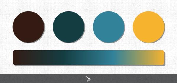 Типы цветовых комбинаций