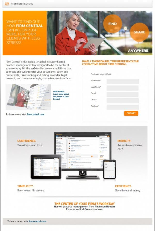 SaaS-сервис Thomson Reuters