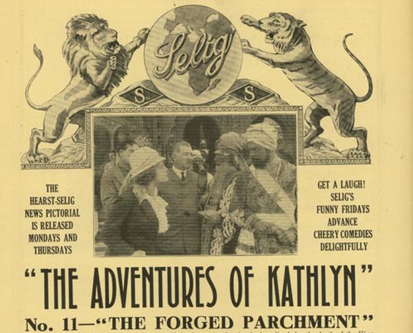 Реклама «Приключений Кэтлин»