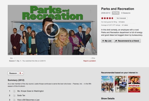 Netflix как пример рентабельного дизайна