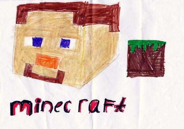 Иллюстрация к статье: Как Minecraft «губит» наших детей: о пользе произвольных игр