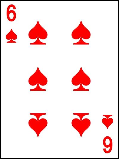 красная шестерка пик