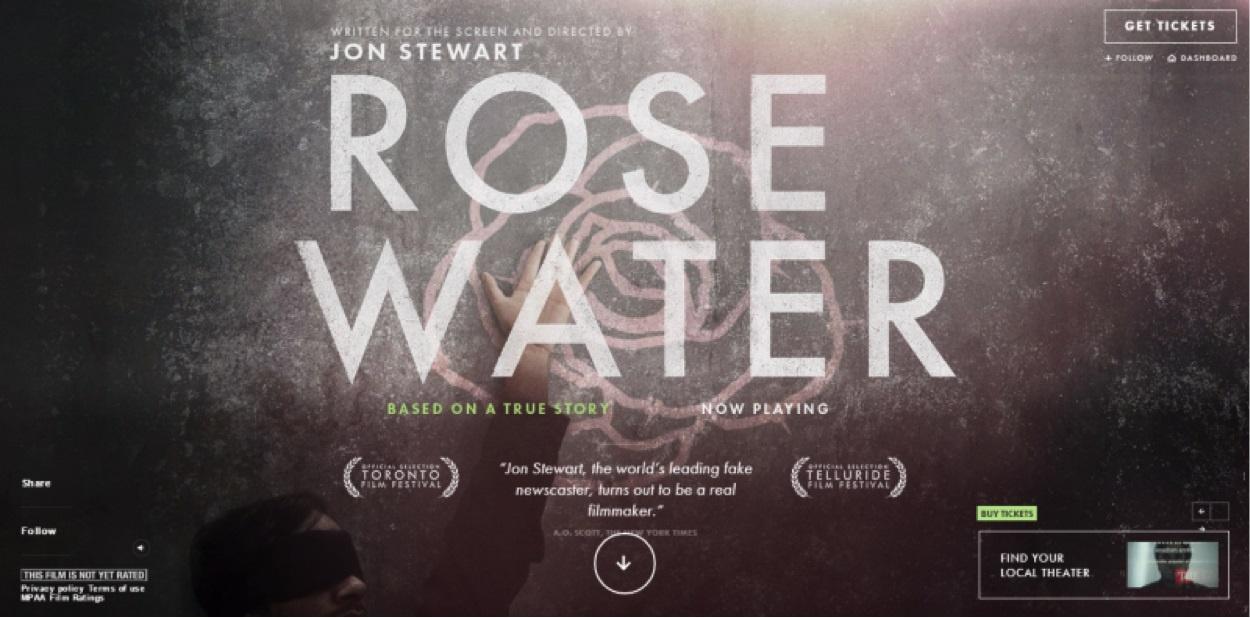 Пример Rosewater Film
