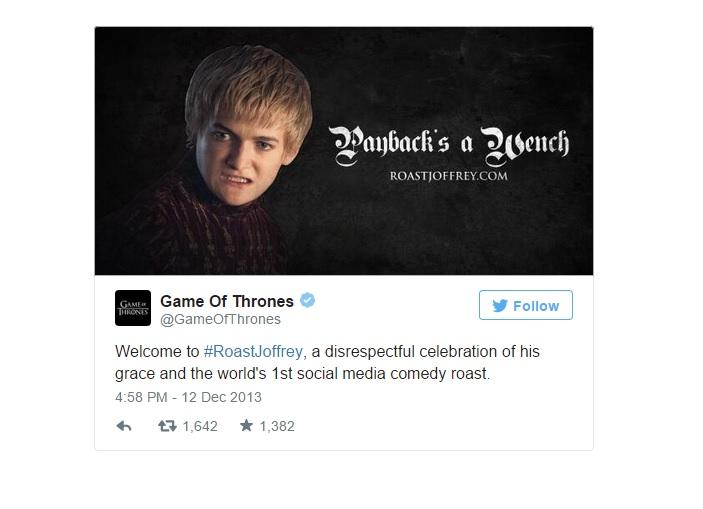 Высмеивание Joffrey