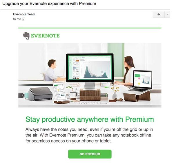 Рекламный email
