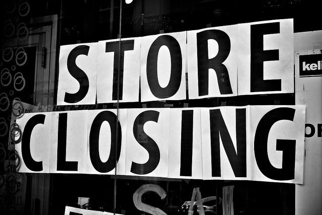 Новая философия потребления наносит удар по розничным магазинам