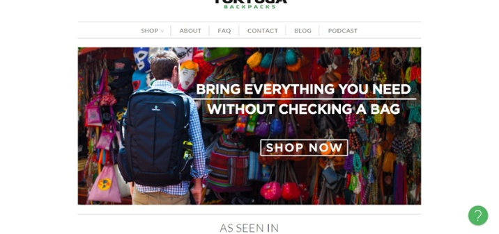 14. Tortuga Backpacks