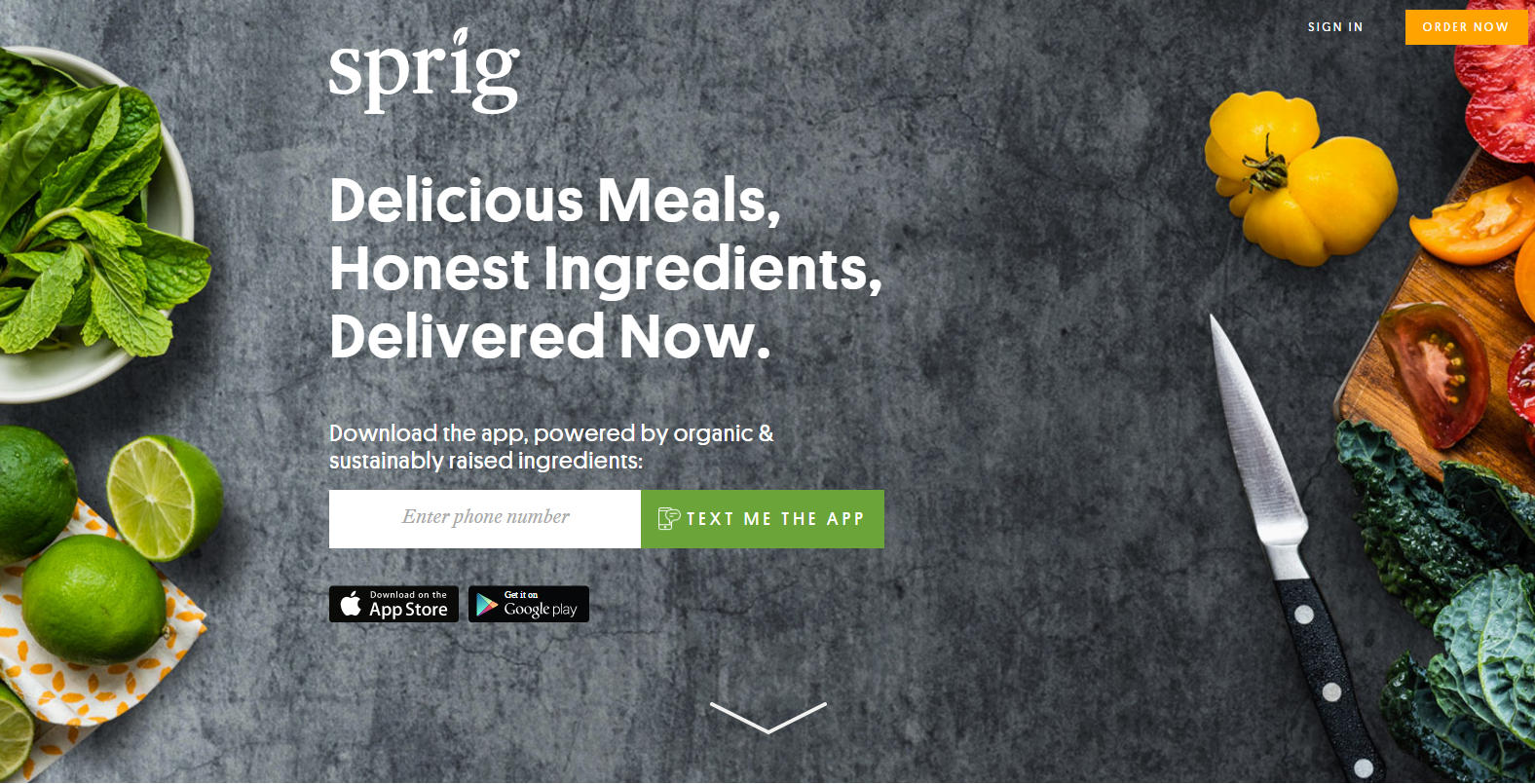 9. Sprig (доставка еды)