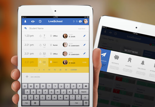 Live School для iPad