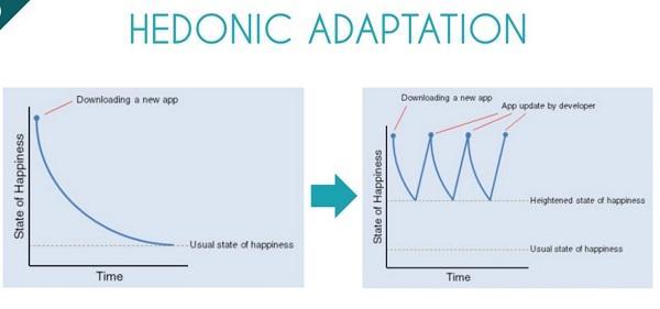 Hedonic adaptation
