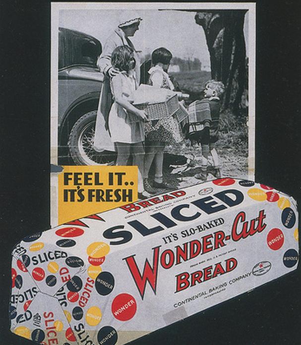 Упаковка нарезанного хлеба