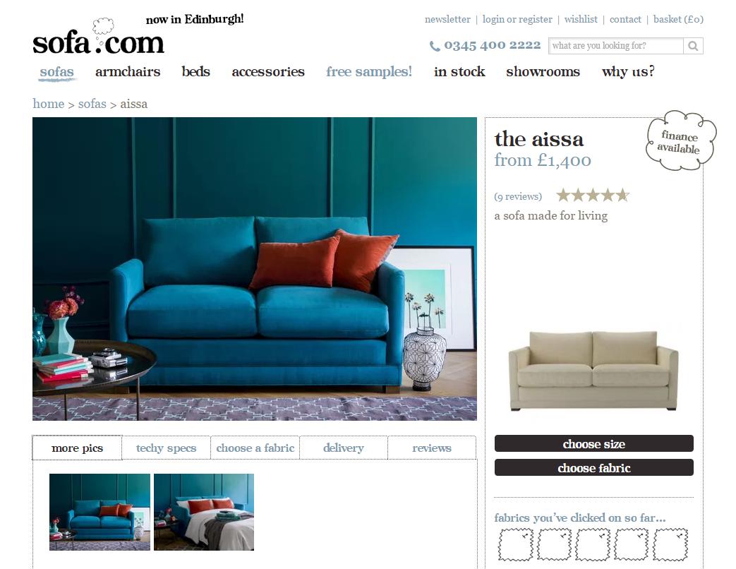2. Sofa.com