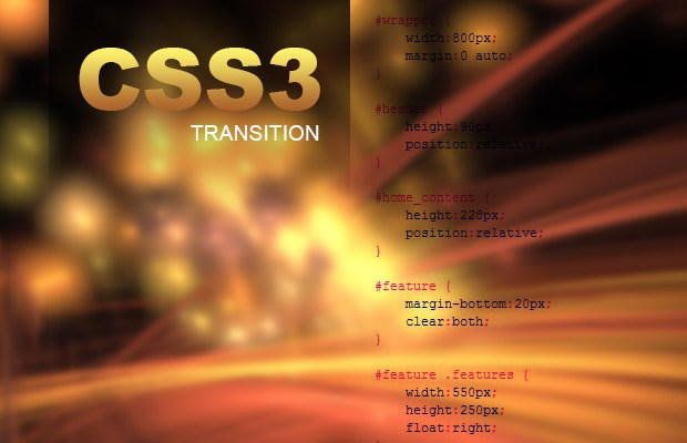 CSS3 transition