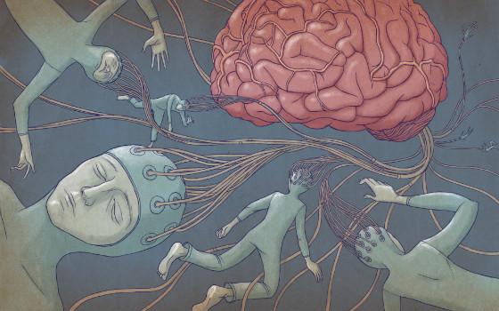 Иллюстрация к статье: Будущее технологий: коллективное сознание