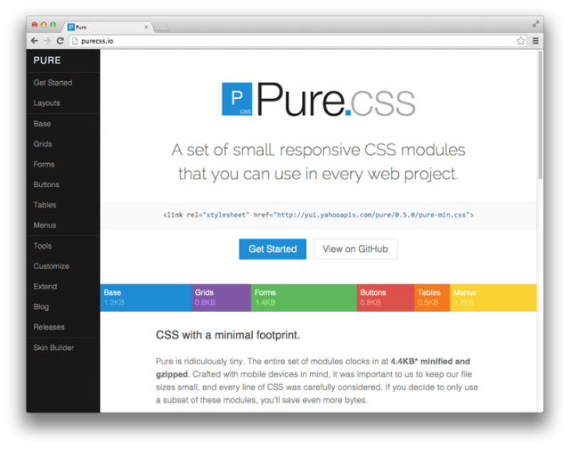 Pure css
