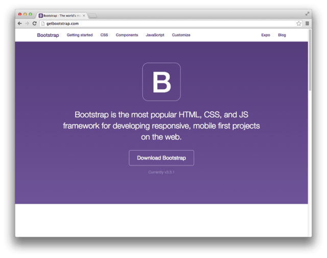 download bootstrap