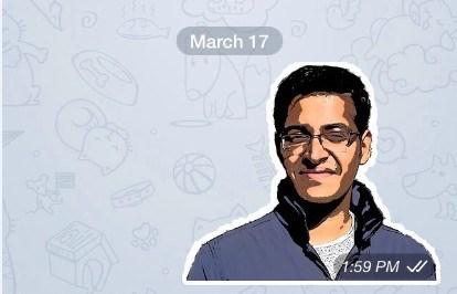 Создание WebP стикеров для Telegram