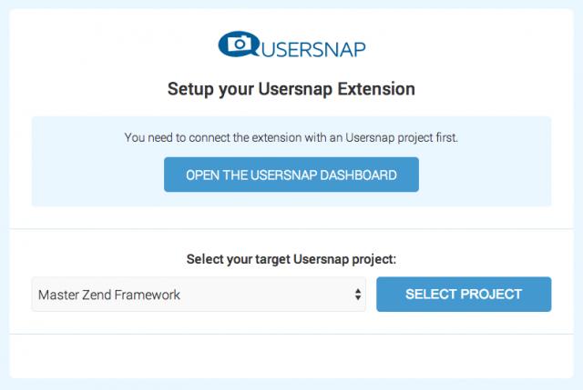 Расширение Usersnap