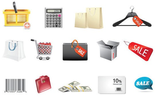 Иллюстрация к статье: 7 Высококачественные иконки для интернет-магазина и электронной коммерции