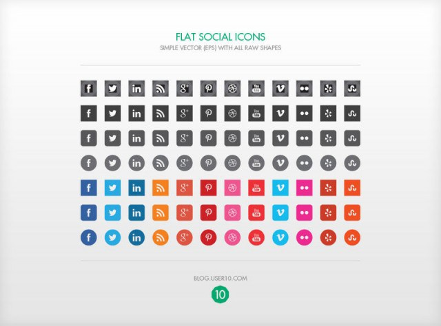 General-10-Flat-Social-Icons-Vecteezy-new