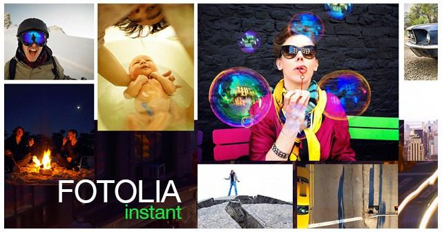 Иллюстрация к статье: Fotolia запускает новую коллекцию и мобильное приложение Fotolia Instant